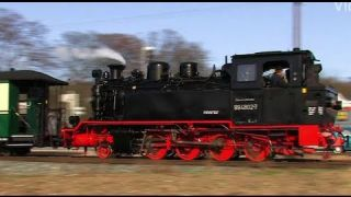 Rügen dampft 1/2 - der Rasende Roland - Dampflok / Steam Train